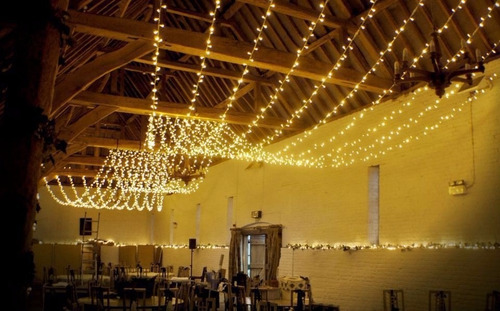 luces 100led 10m decoracion luz blanca calida vintage fiesta