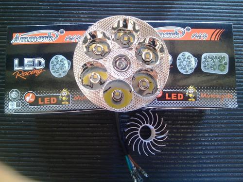 luces 6 led redondas motos y carro  precio por unidad