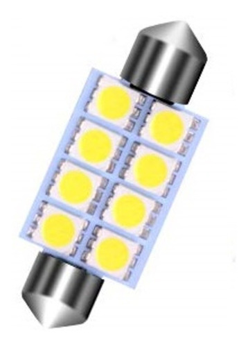 luces 8 led (interna) para techo de carro envio gratis 1 par