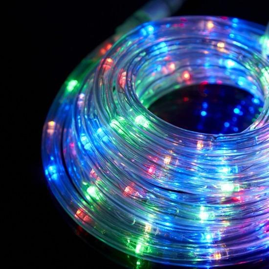 30a04708ec3 Luces A Led Multicolor Manguera 10mt Navidad Navideñas Arbol -   990 ...