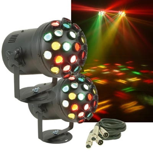 luces american dj d-light sync pack 2 lamparas