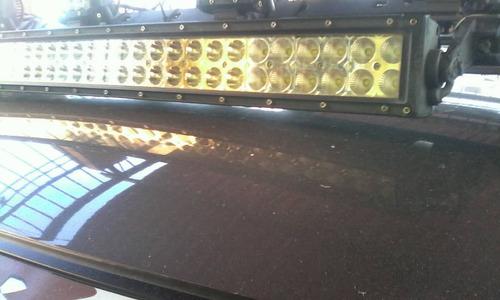 luces barra doble 60 led 32 pulgadas