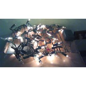 Luces Blancas Arbolito Navidad 100 Luces 8 Mt 8 Modos Fiesta