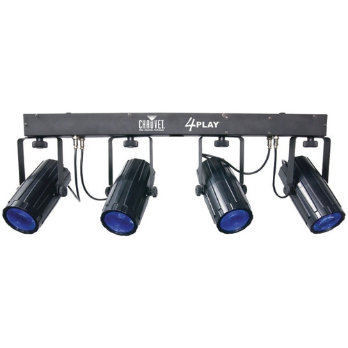 luces chauvet bar 4play 6 canales dmx-512 led bar
