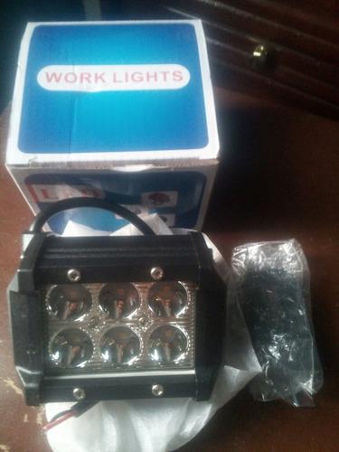 luces de 6 led exteriores para carros, motos y camiones.
