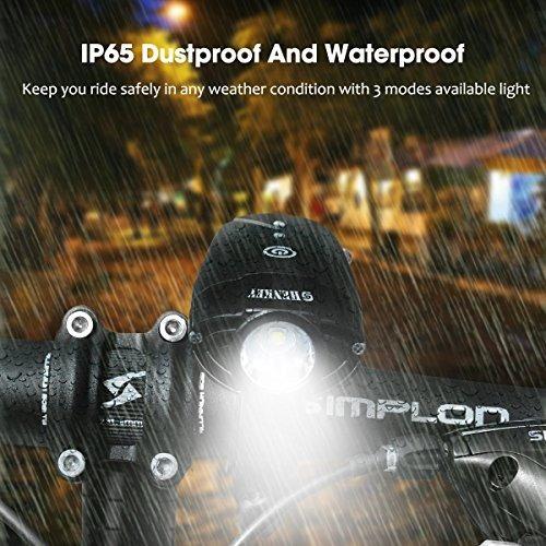 luces de bicicleta   linterna de la bicicleta del led usb c