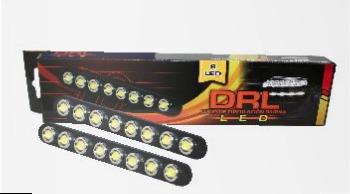 luces de circulación diurna blanca 8 led smd 12v x 2 tunning