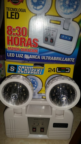luces de emergencia schubert led