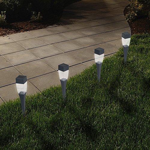 luces de energía solar (juego de 24) - lámpara de led de ba