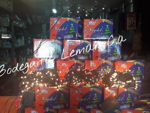 luces de navidad arrocito 100 bombillos 5 mt de largo oferta