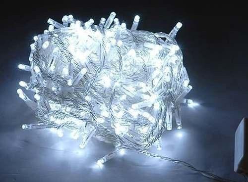 luces de navidad led blancas,colores, moradas 100 bombillos