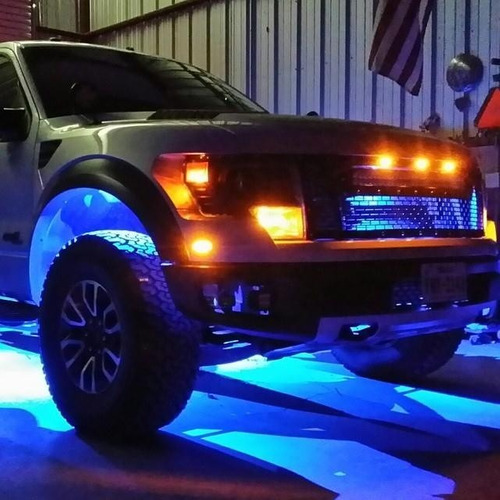 luces de piso para automovil