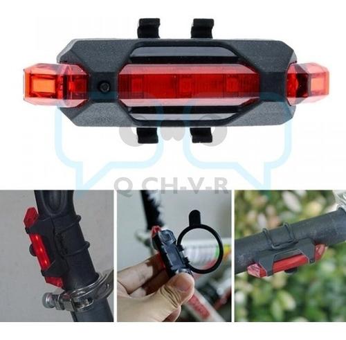 luces de seguridad recargables para bicicleta ip67 qchvr