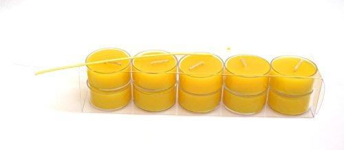luces de té,100% pure original refined beeswax tea light..