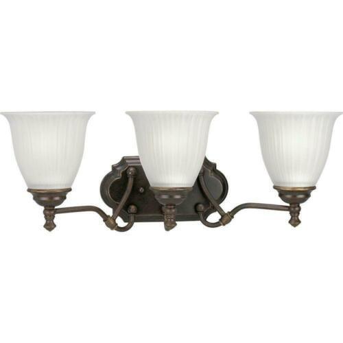 luces de tocador de bronce forjado 3 renovaciones de ilumin