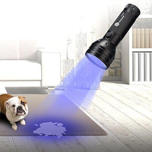 luces de uv linterna negro, taotronics 51 ultravilot