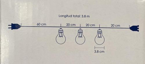 luces decorativas cálidas 16 piezas tendedero