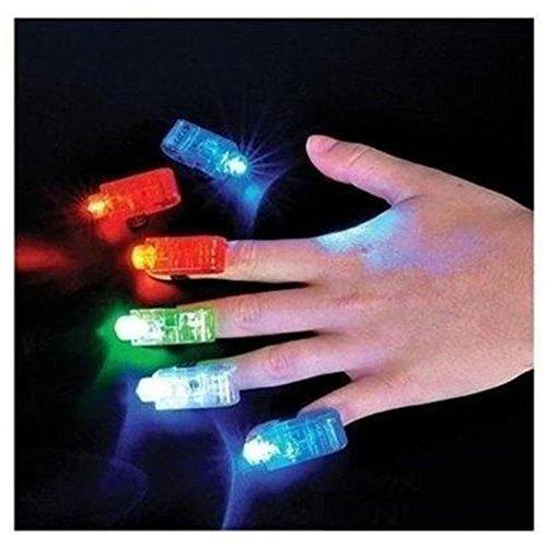 luces del dedo del partido led juguetes paquete de 40