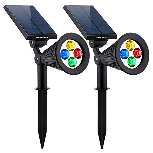 luces en el suelo,urpower solar lights 2-en-1 solar powe..