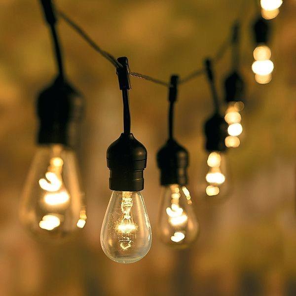 Luces En Serie Led Exterior Guirnalda String Lights