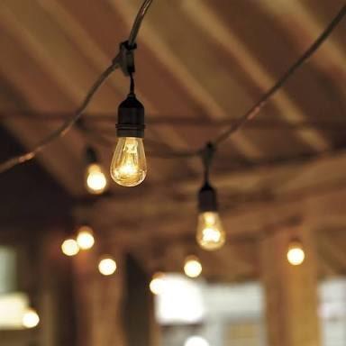 Luces en serie para decoraci n de jard n vintage for Luces colgantes para jardin