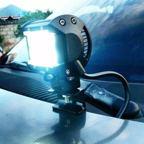 luces exploradoras led alta intensidad para carro moto 18w