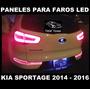 Faros Led Kia Sportage 2014 2016 Paneles Genuinos