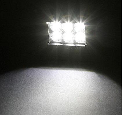 luces, faros  led de 18w  led cree expansión o profundidad