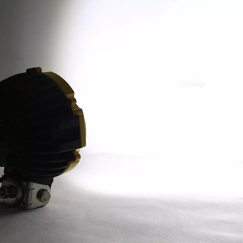 luces foco led neblinero 63w redondo 21 led off road/ 206004