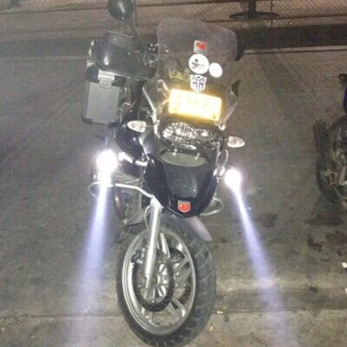 luces foco neblinero led ojos de angel moto u5 / 206065