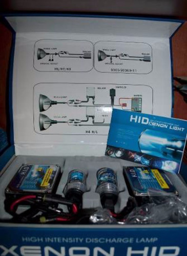 luces hid 8.000k 35w