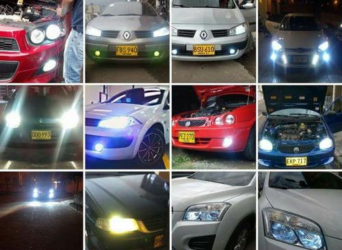 luces hid h1, h3, h7, h8, h11, 9005, 9006, 880