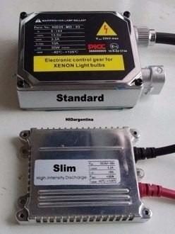 luces hid h4 8000k xenon ligth 55w balastro slim alta/baja