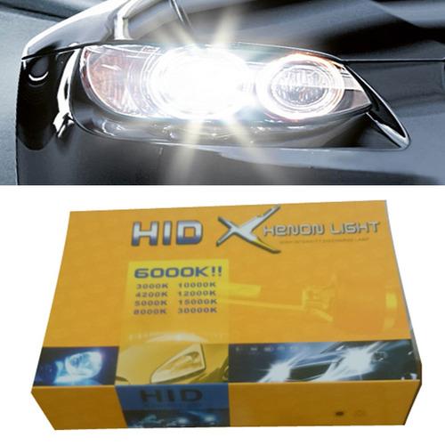 luces hid xenon autos 55w con 12 meses garantia p/ autos