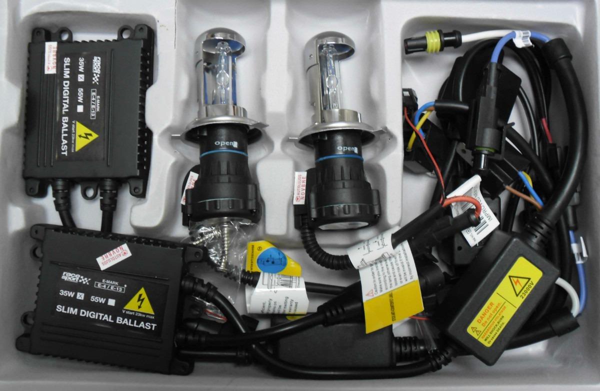 luces hid xenon h1 h3 h7 h11 kit completo 8000k 35w en mercado libre. Black Bedroom Furniture Sets. Home Design Ideas