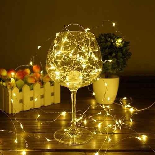 luces led 10 metros guirnalda 100 mini luces boda decoracion