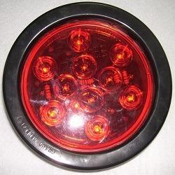 luces led 10d. 4  de stop lente rojo led rojo