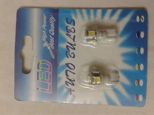 luces led 12v  bulbs d10.5v para auto  par blancas