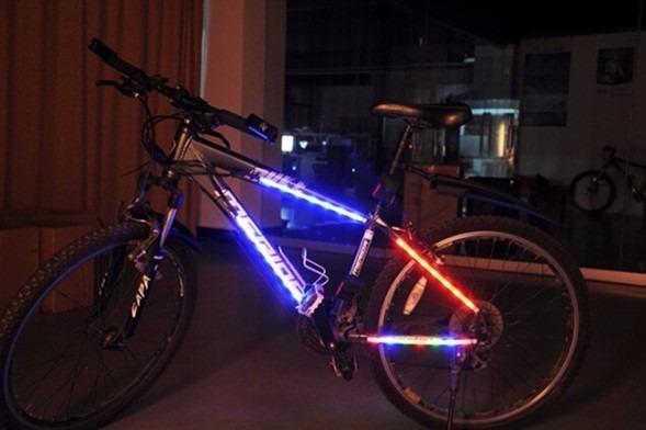 e82f141bf Luces Led 14 Para Cuadro De Bicicleta Multicolor - $ 349.00 en ...