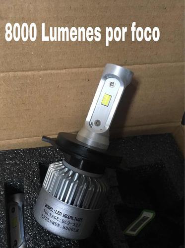 luces led 16000 lumenes  carro y moto nuevo  3 chips csp