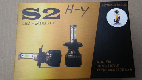 luces led 8000 lm bombillo 3chip fiat palio 2002 / 2007