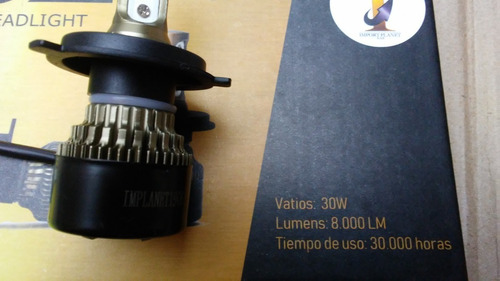 luces led 8000 lm bombillos 3chip autana 2002 / 2006 toyota