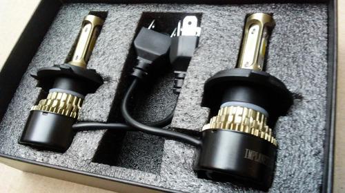 luces led 8000 lm bombillos 3chip hyundai accent 2002 / 2011