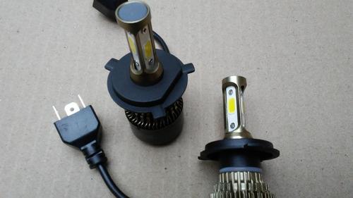luces led 8000 lm bombillos 3chip toyota prado 2000 / 2008
