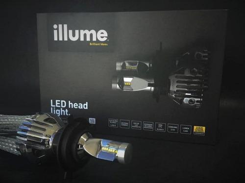 luces led alta y baja mejor que xenon ilume