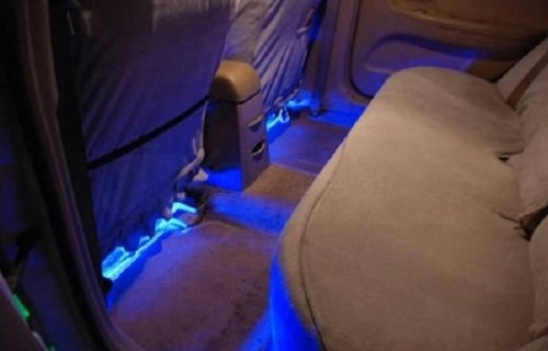 luces led atmsfera interior carro decoracin tuning