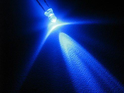 luces led azul 50 unid