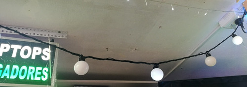luces led bombillas canicas grandes calido 10 metros eventos
