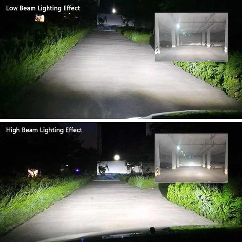 luces led bombillo h4 6500k alto poder h11 9006 en oferta