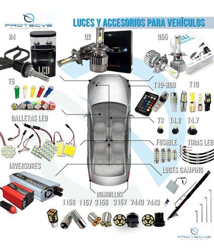 luces led bombillo muelita t10 nuevo modelo (2 ud)